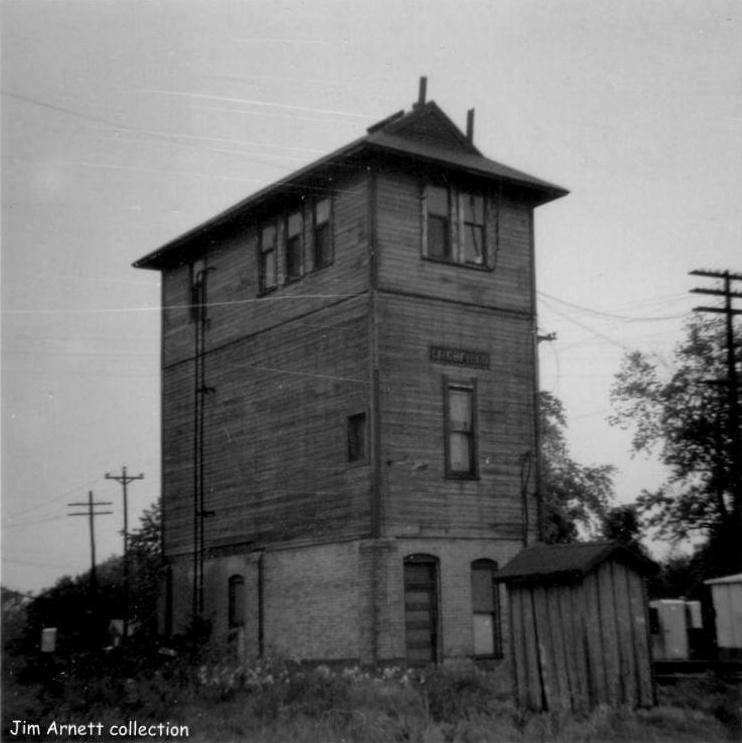 Litchfield Interlocking Tower, Jim Arnett
